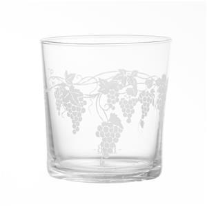 Porcellana Bianca Bicchiere Uva Babila