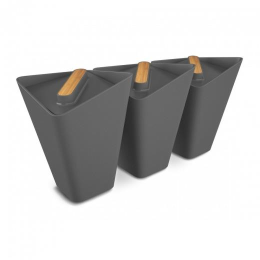 TRADING GROUP STORAGE JARS - SET DA 3