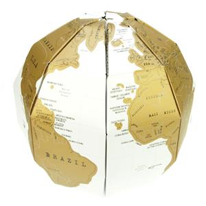 TRADING GROUP SCRATCH GLOBE 3D MAP