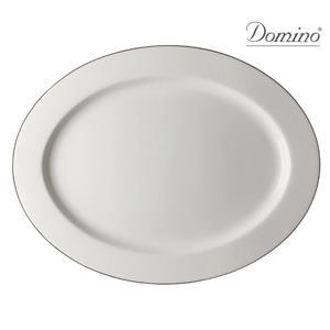 Domino Vassoio Ovale Alba Platino