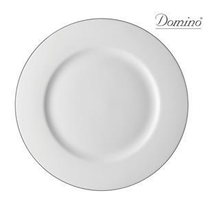 Domino Vassoio Rotondo Alba Platino