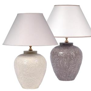 ETRO HOME ACCESSORI LAMPADA BOMBATA RILIEVO