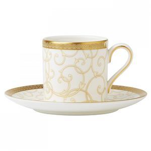 Wedgwood Tazzina Caffe' Bound Celestial Gold
