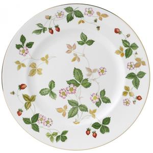 WEDGWOOD PIATTO PIANO WILD STRAWBERRY