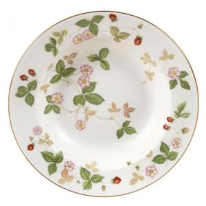 Wedgwood Piatto Fondo Wild Strawberry