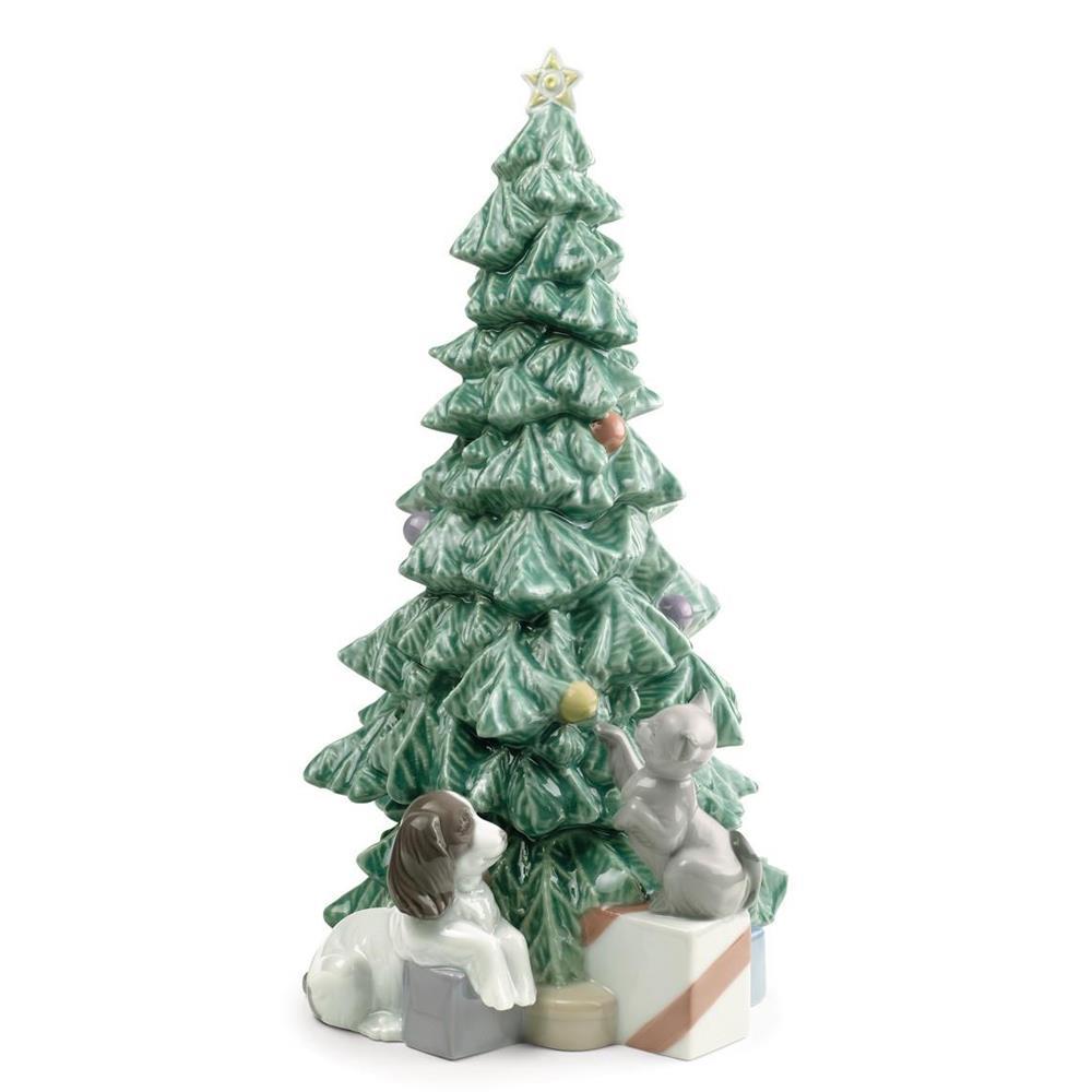 nao albero di natale - statuette porcellana christmas