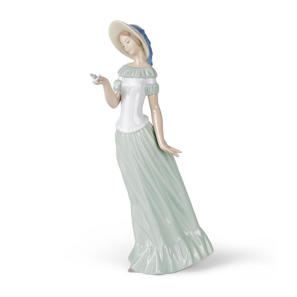 Nao Dama Della Farfalla - Statuette Porcellana Youth