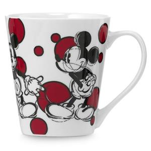 Egan Mug Mickey Mouse Con Bolle Rosse