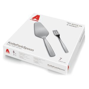ALESSI SET POSATE 7 PEZZI KNIFERFORKSPOON