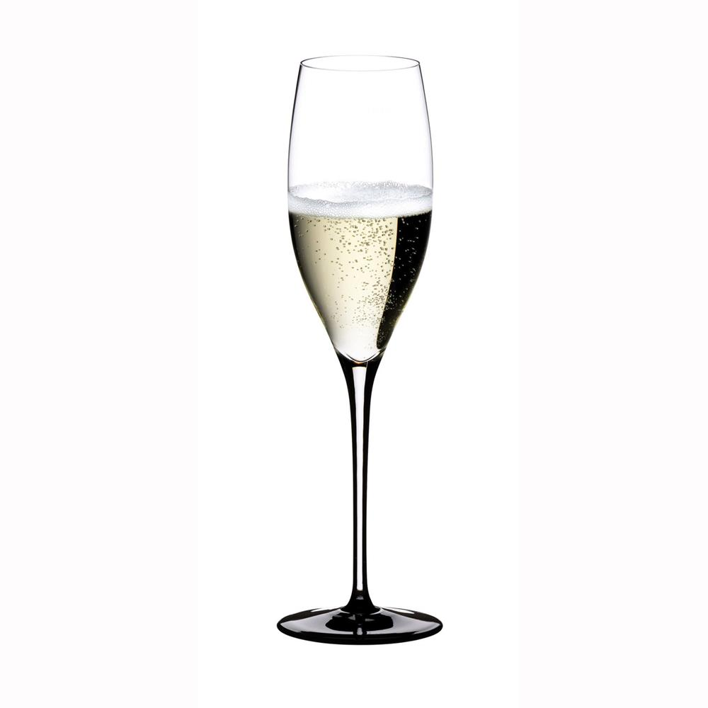 RIEDEL CALICE CHAMPAGNE SOMMELIERS BLACK TIE