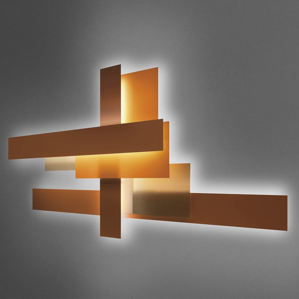 Foscarini lampada da parete fields lampade da parete - Illuminazione da parete design ...