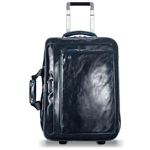 Piquadro Trolley Cabina Con Porta Pc Blue Square