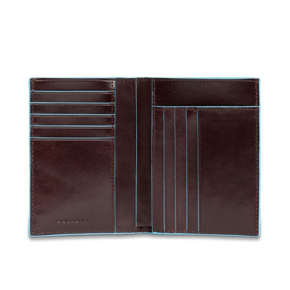 3e5eabfcf5 Piquadro Portafoglio Uomo Verticale - Portafogli Blue Square