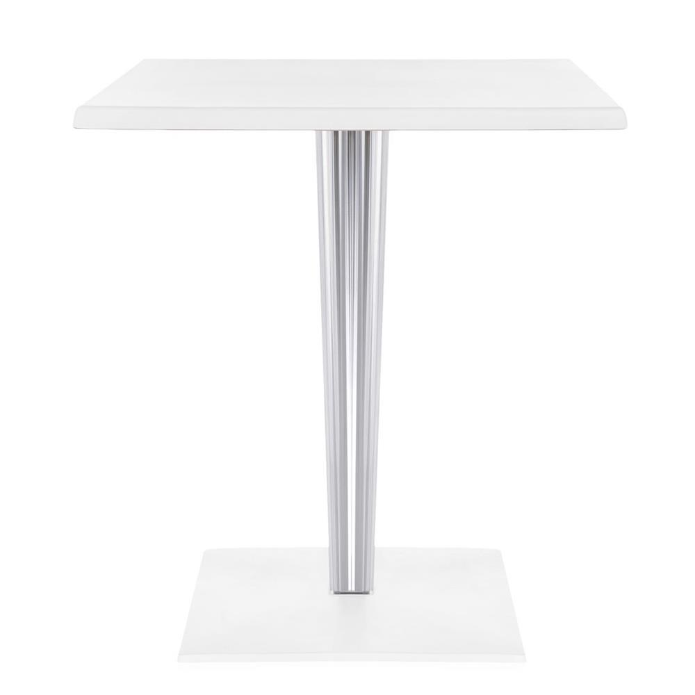 KARTELL TAVOLO TOP TOP FOR DR. YES BASE E GAMBA QUADRA