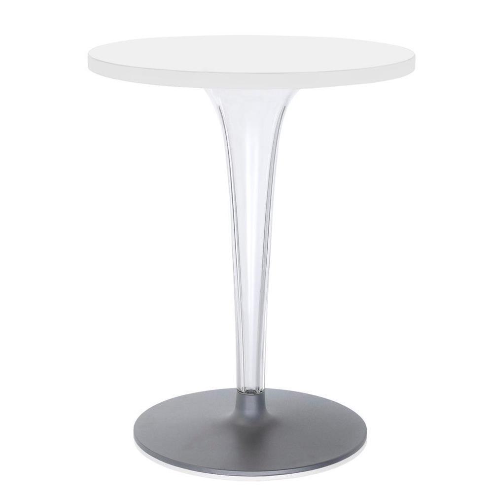 Kartell tavolo tondo top top base tonda tavoli top top - Tavolo top top kartell ...