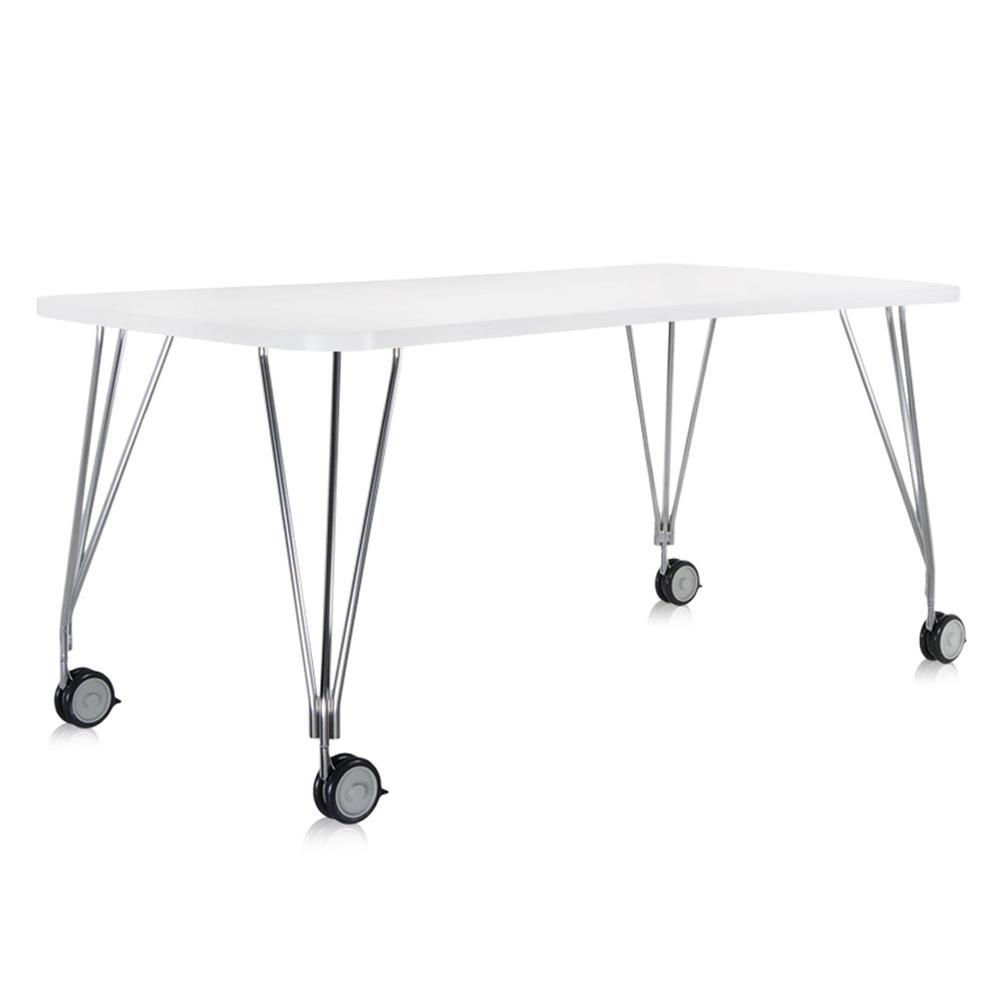 Kartell tavolo max con ruote tavoli max - Tavolo con ruote ...