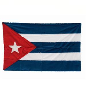 Seletti Bandiera In Cotone Cuba