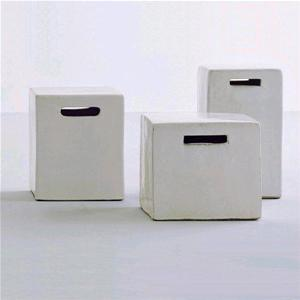 Gervasoni Pouff Inout In Ceramica