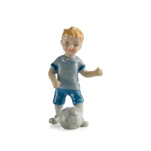 Royal Copenhagen Bambino Gioca A Calcio Mini Collection