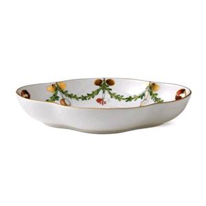 ROYAL COPENHAGEN VASSOIO STAR FLUTED CHRISTMAS