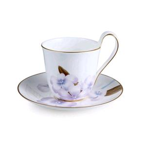 ROYAL COPENHAGEN TAZZA THE CON PIATTINO RODODENDRO