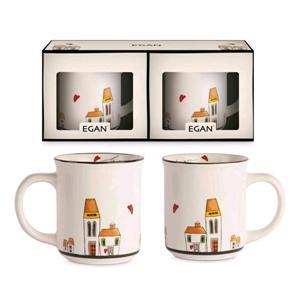 Egan Set 2 Mug Le Casette