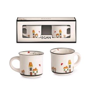 EGAN SET 2 MINI MUG LE CASETTE