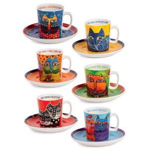 EGAN SET 6 TAZZE LAUREL BURCH