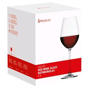 Kunzi Confezione 4 Bicchieri Vino Rosso Salute