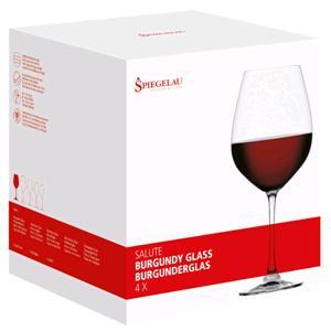 Kunzi Confezione 4 Bicchieri Burgundy Salute