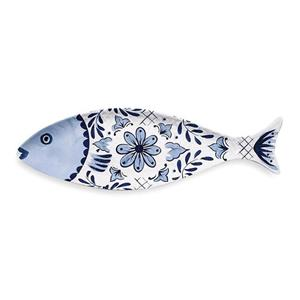Serafinozani Vassoio/piatto Pesce Lungo Santorini