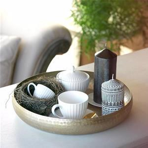Fontebasso Servizio Caffe 13 Pezzi Radius White