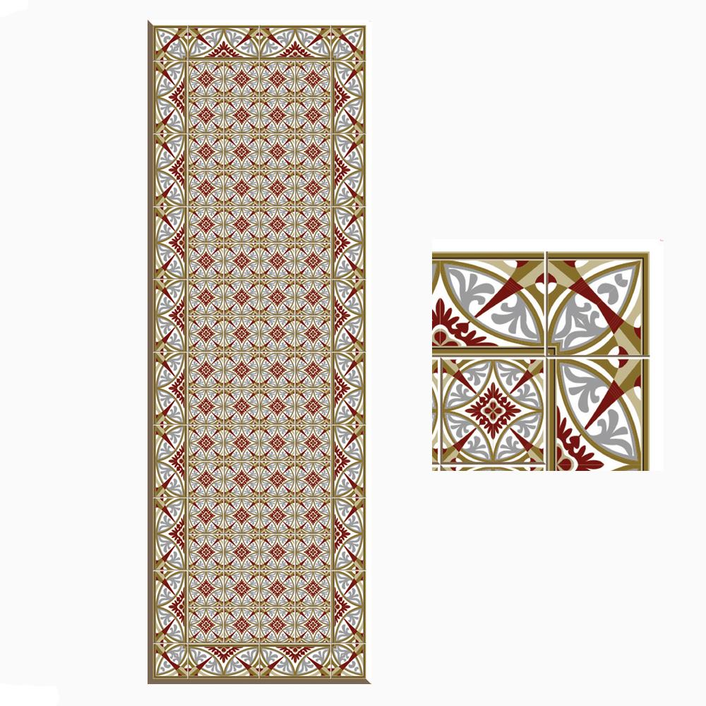 DECO & CARPETS TAPPETO ANTIQUE COLOURS TILE 03
