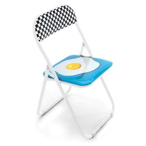 Seletti Sedia Metallo Egg New