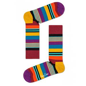 HAPPY SOCKS CALZE MULTI STRIPE