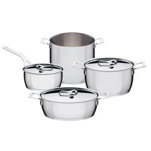 Alessi Set 7 Pezzi Pots&pans