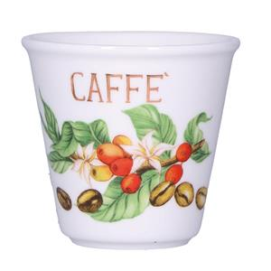 Porcellana Bianca Bicchierino Caffe Liquorelli
