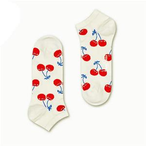 Happy Socks Calze Cherry Low