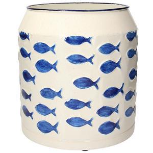 Fontebasso Vaso In Metallo Aquarius