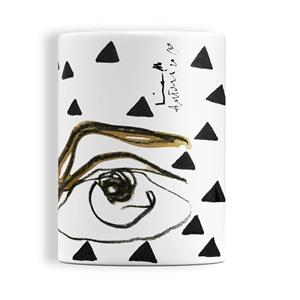 Kiasmo Tazza Mug Glass I