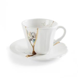 Seletti Tazza Caffe Con Piattino Decoro N3 Kintsugi