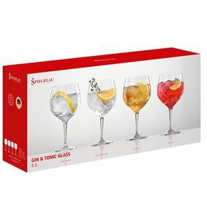 Kunzi Confezione 4 Bicchieri Gin Tonic