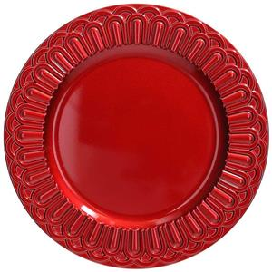 FONTEBASSO SOTTOPIATTO CLASSIC RED SERVING