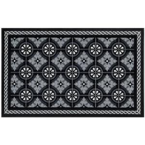 Wash & Dry Tappeto Kitchen Tiles Black